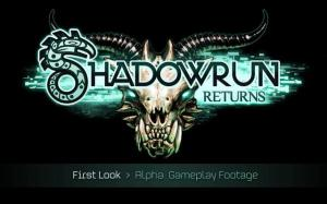 Shadowrun Returns Alpha Footage