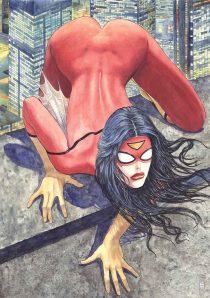 Manara Spider-Woman