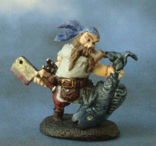 Dwarf fisherman Arjen