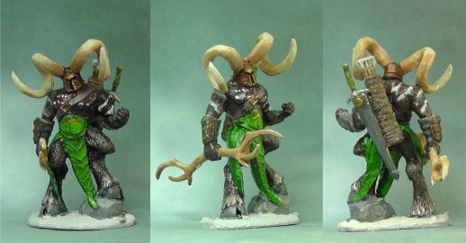 Horned hunter Arjen