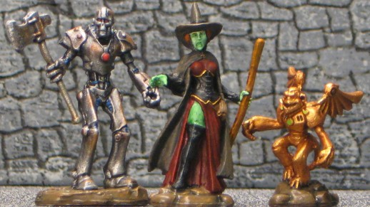 Bones Wicked Witch Monkey Tin Man IMG_4323